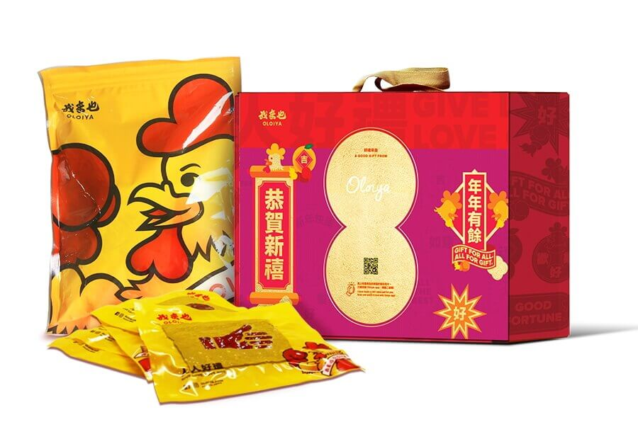 心意雞肉乾 Lovely Heart Chicken (500g)